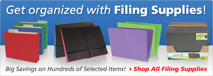 Filing Supplies - File folders - Label Inserts